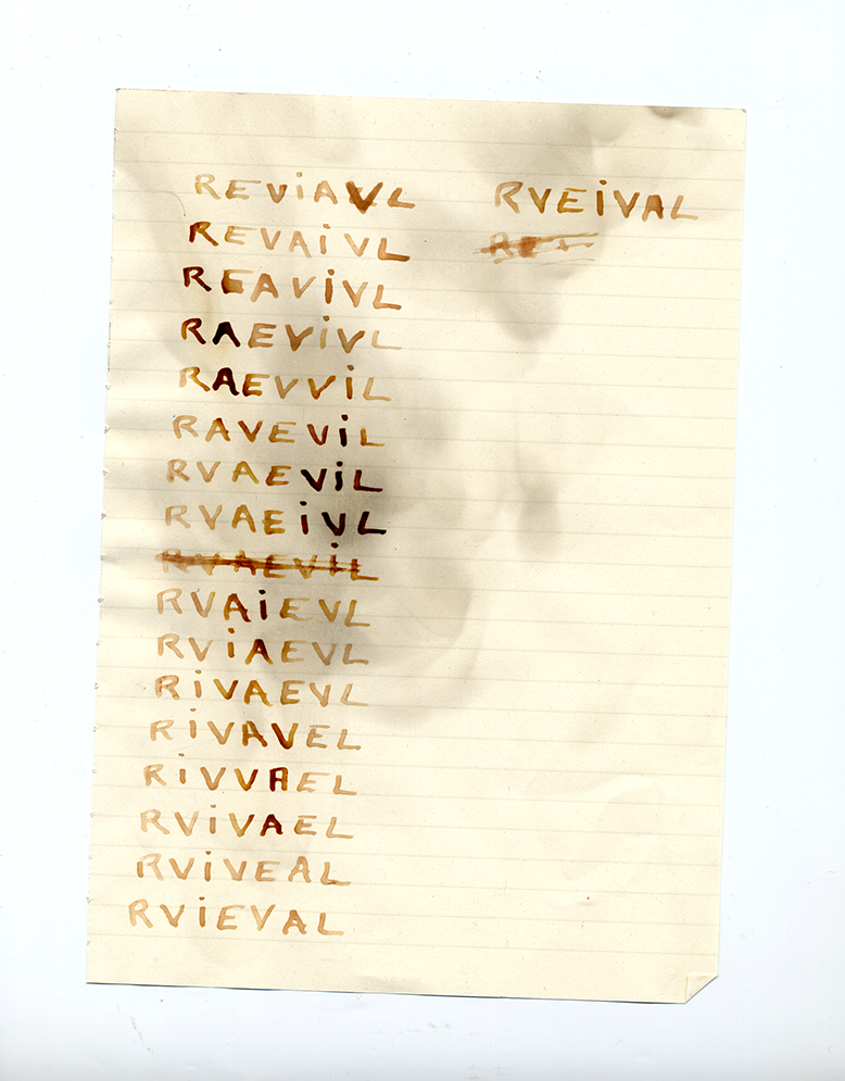 Revival (.txt) _blood on paper